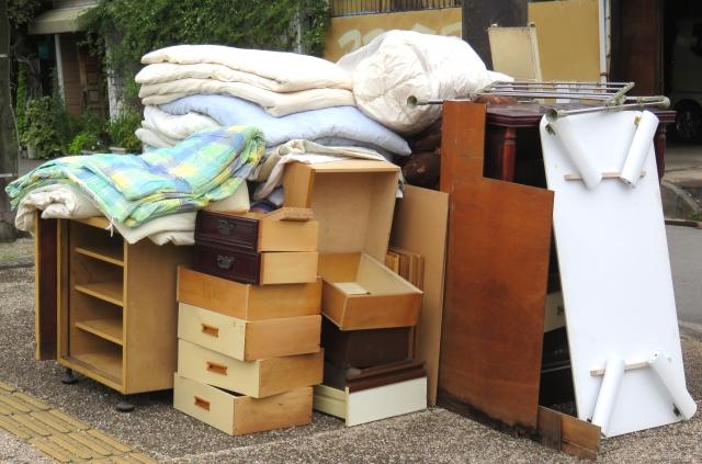 引っ越しによる急な処分は不用品回収業者に依頼しよう