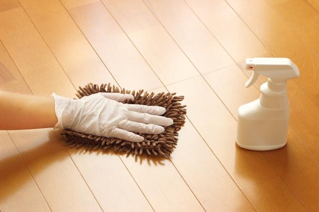 床掃除をする道具