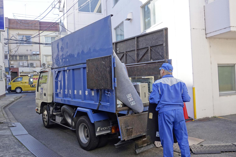 ゴミ収集 仕事